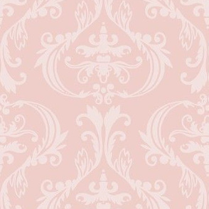 Damask in pinks
