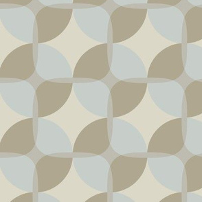 16-19P Circle Square Blue Taupe Pinecone Mountain_Miss Chiff Designs