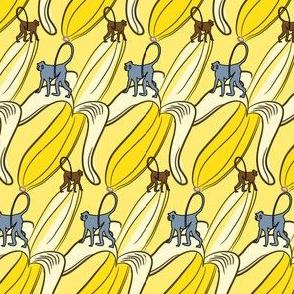 16-11K Banana Fruit Monkey Africa Safari Zodiac Food LG_Miss Chiff Designs