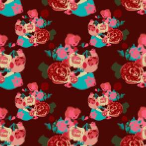 Pixel Bouquet