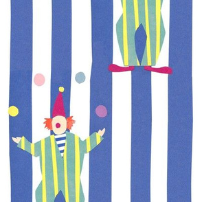 Clowns (blue)