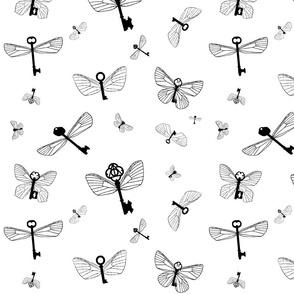 Flying Keys plain