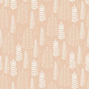 Ferns-dustypink