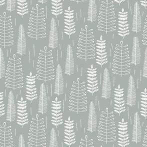 Ferns-dustyblue