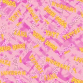 Words of Celebration - Pink