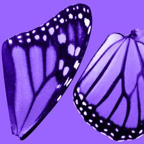Medium Purple Monarch Butterfly Costume Wings
