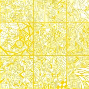 Squares Mustard Yellow