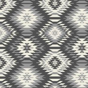 Navajo - Soft Black, Gray, and Cream 2