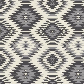 Navajo - Soft Black, Gray, and Cream 3