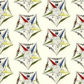 """Large 2"""" Vintage Morris Eastern Star Symbol"""