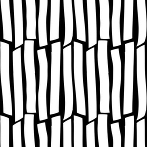 white on black cracked stripes | pencilmeinstationery.com