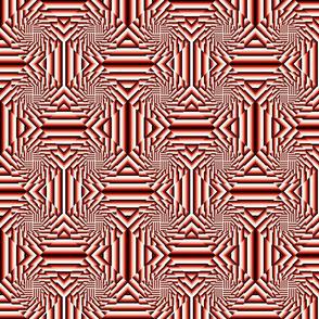 Square Stripe 3D Stack