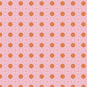 Pink Boho Dots _CNY16 by Friztin