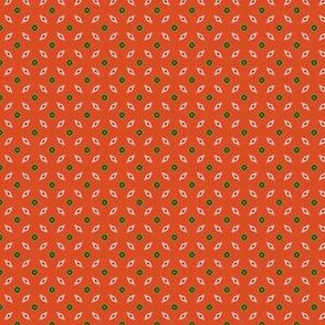 Red Vintage Tiles _CNY16 by Friztin