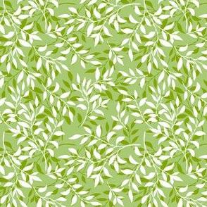 Plain Coordinate for Rambling Vines - Green