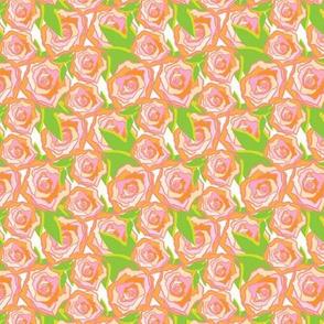 Peach Rose Floral_Miss Chiff Designs