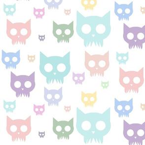 Cat Skulls - Pastel Variant