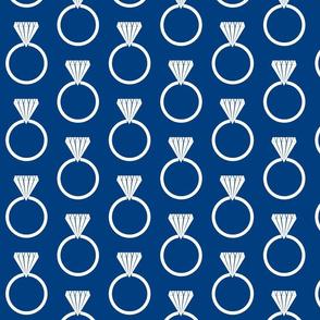 Diamond Ring Navy