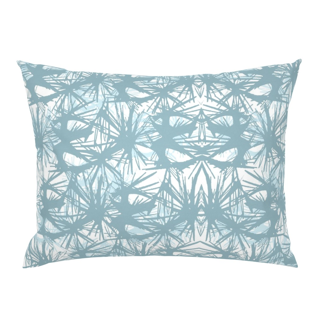 Campine Pillow Sham featuring tropical_Teal by elainecollinsdesigns