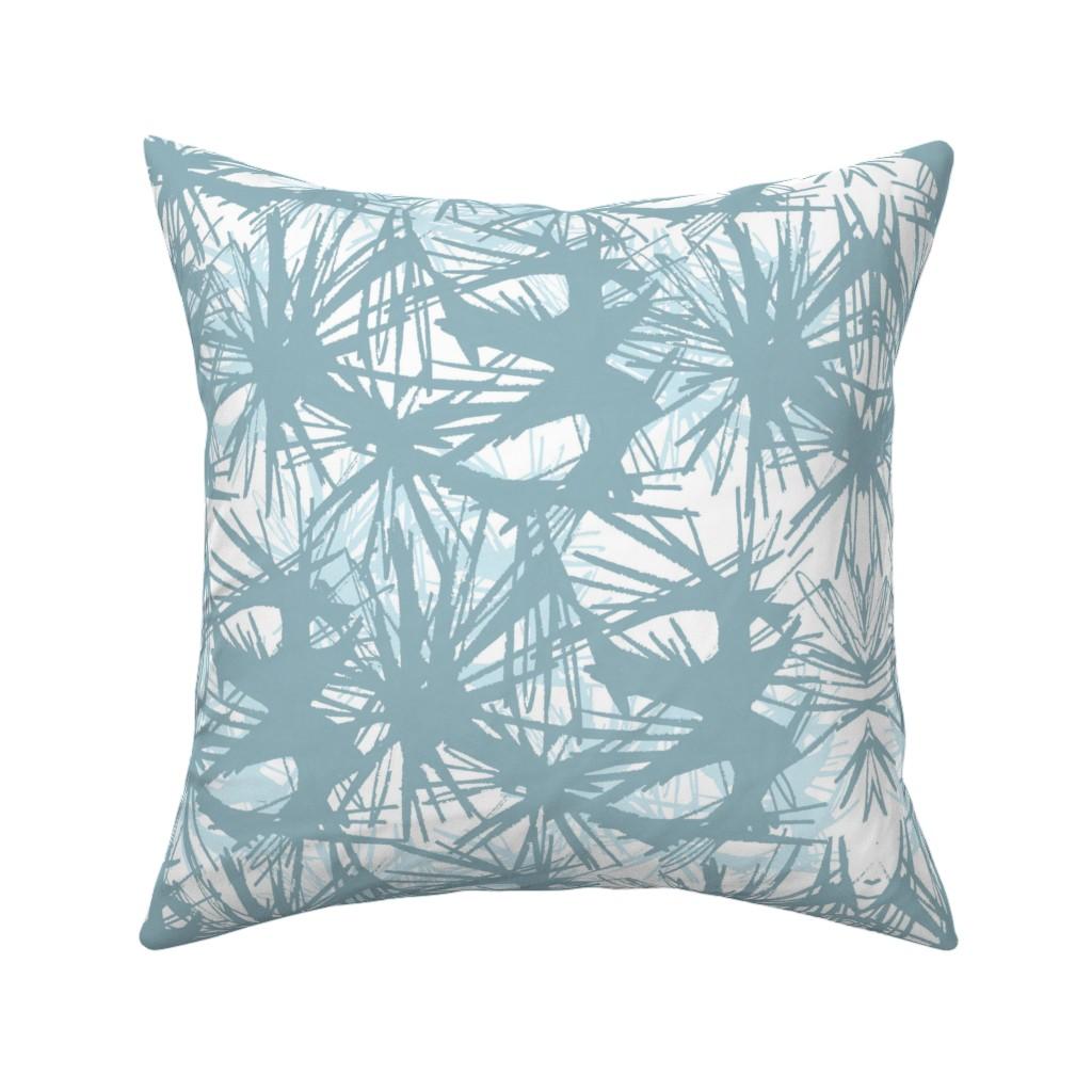 Catalan Throw Pillow featuring tropical_Teal by elainecollinsdesigns