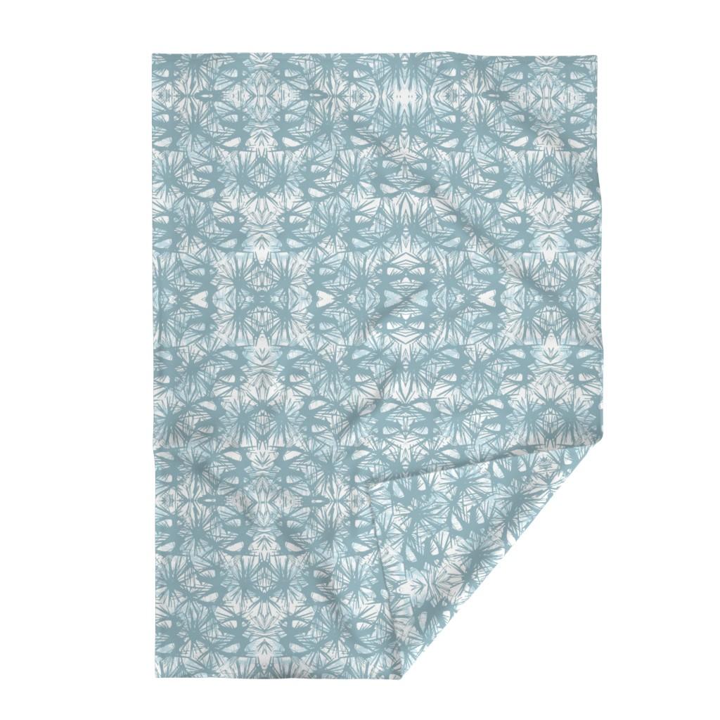 Lakenvelder Throw Blanket featuring tropical_Teal by elainecollinsdesigns