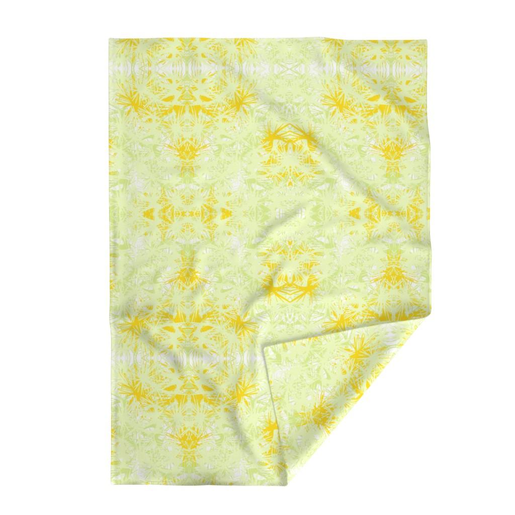 Lakenvelder Throw Blanket featuring Tropical_plant in satsuma by elainecollinsdesigns