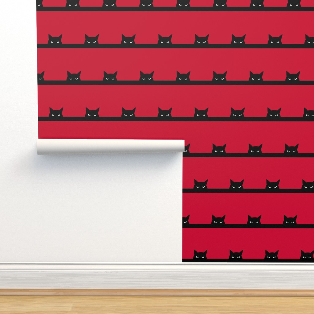 """Isobar Durable Wallpaper featuring 8"""" cat by strange_phenomena"""
