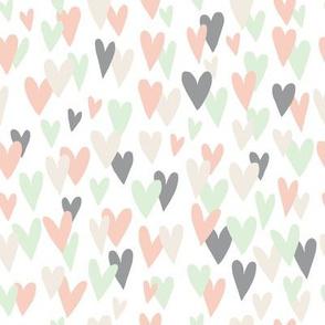 Heart on Heart (white)
