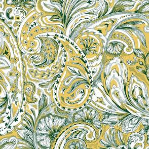 Paisley - Yellow