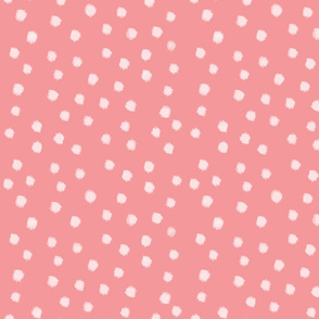 Watercolor Dot in Pink