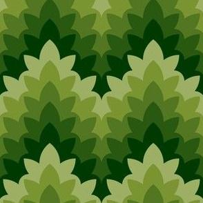 05034247 : leafy zigzag : spoonflower0090