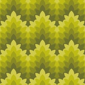 05034248 : leafy zigzag : spoonflower0210