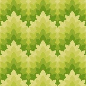 05034304 : leafy zigzag : apple trees