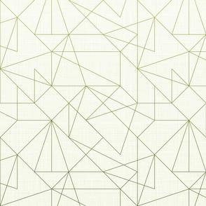 Geometric lines Gradient (Olive)