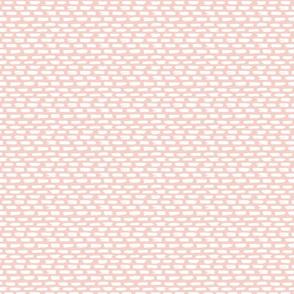 Painted bricks - pretty pink