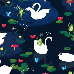 Swans & Frogs
