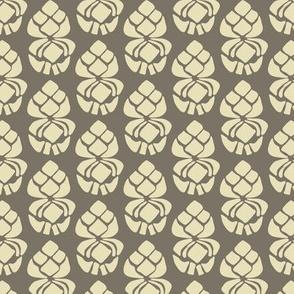 16-19M Abstract Cream Pine Cone Mountain Wedding_Miss Chiff Designs