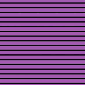 Stripes - Horizontal - Mid Purple (#A25BB1) and Black (#000000)