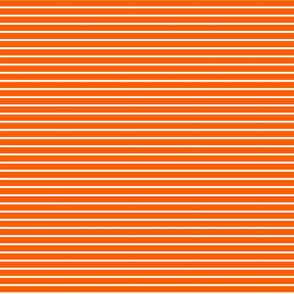 Stripes - Horizontal - Orange (#FF5F00) 0.4 inch stripes with White (FFFFFF) 0.1 inch stripes