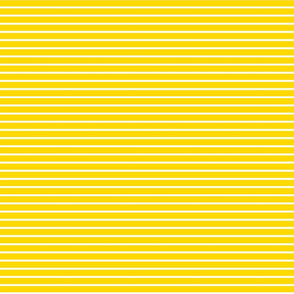 Stripes - Horizontal - Yellow (#FFD900) 0.4 inch stripes with White (FFFFFF) 0.1 inch stripes