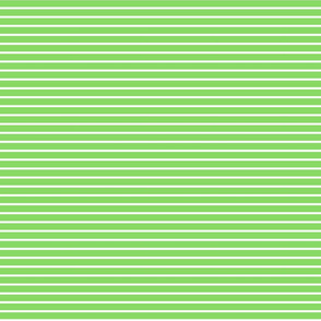 Stripes - Horizontal - Pale Green (#89DA65) 0.4 inch stripes with White (FFFFFF) 0.1 inch stripes