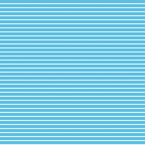 Stripes - Horizontal - Pale Blue (#57BEE4) 0.4 inch stripes with White (FFFFFF) 0.1 inch stripes