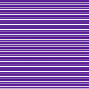 Stripes - Horizontal - Dark Purple (5E259B) 0.4 inch stripes with White (FFFFFF) 0.1 inch stripes