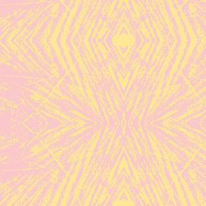 Lovely Log (Pink & Yellow)