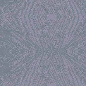 Lovely Log (Medium Gray & Lavender)