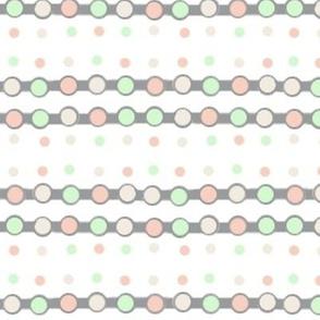 Dotted Ribbon - Wedding Colour Scheme