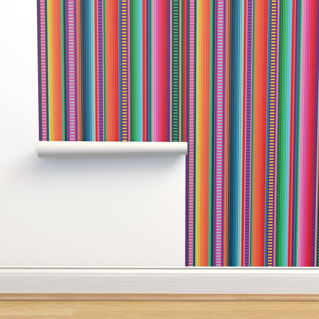 Isobar Durable Wallpaper featuring Mexican Blanket by anchored_by_love