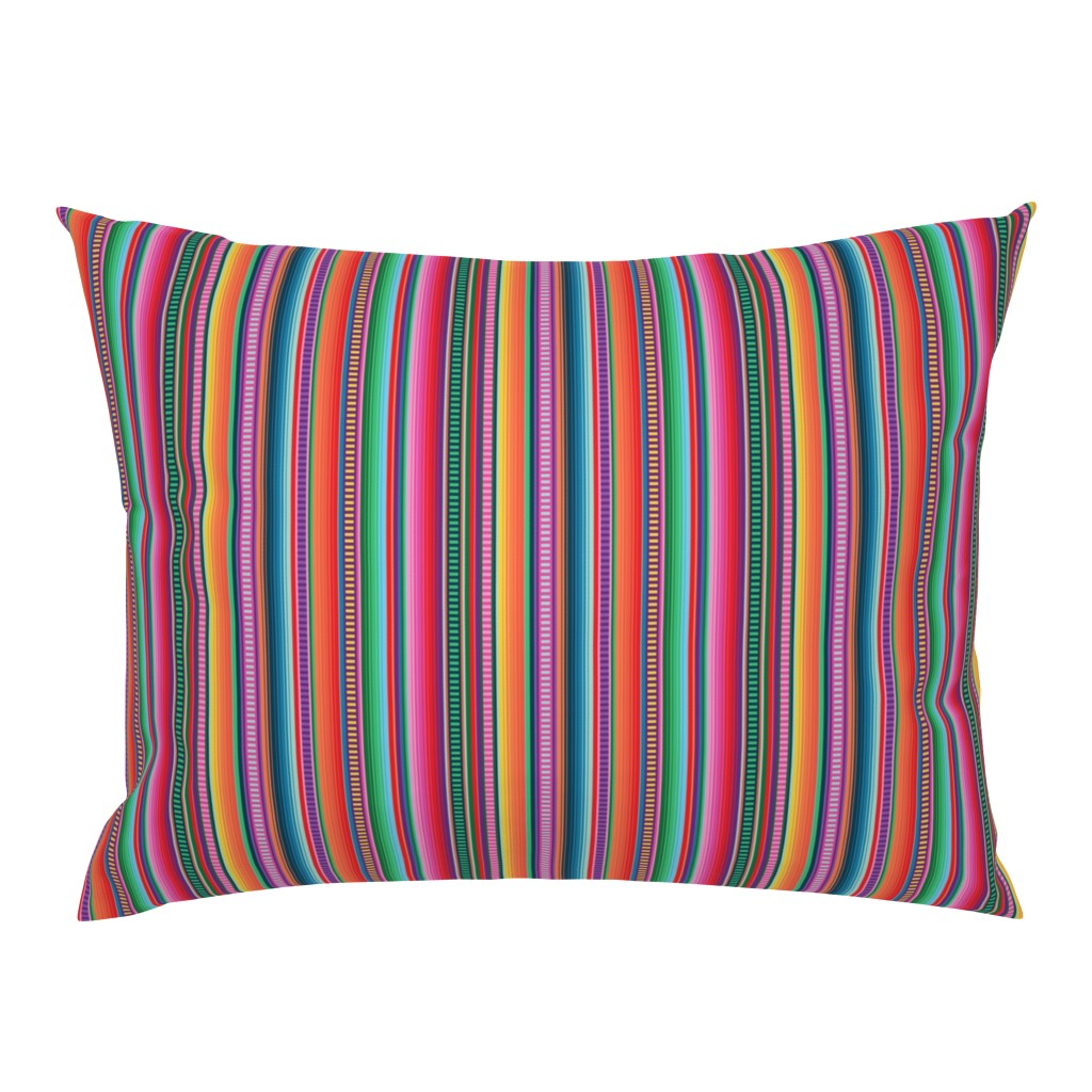 Campine Pillow Sham featuring Mexican Blanket by anchored_by_love