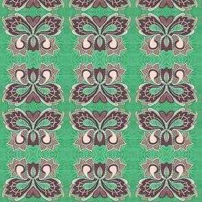 Flutterby Butterfy in green