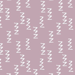 Geometric raw zigzig thunder lightning thunderbolt memphis style modern abstract brush strokes violet